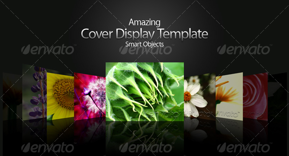 GraphicRiver Amazing Cover Display Template 35358