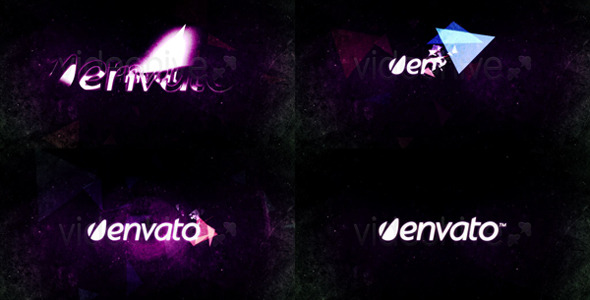 After Effects Project - VideoHive Glitchy Digital Logo 786560