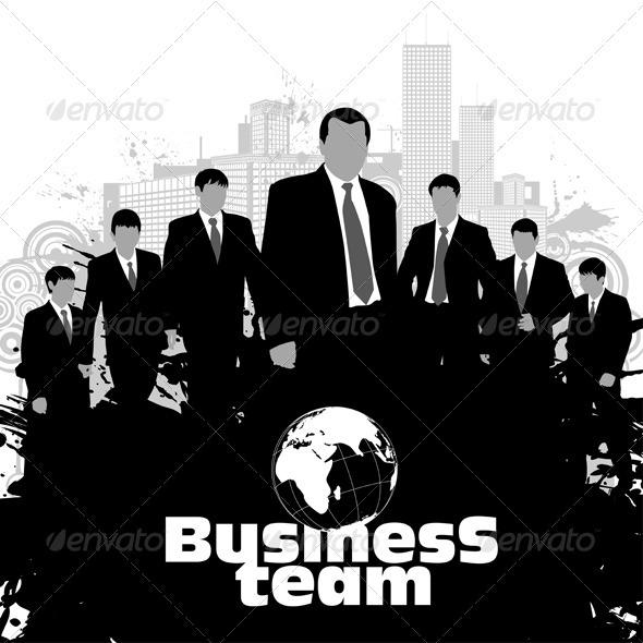 Graphic River Business Silhouettes Vectors -  Conceptual  Business  Concepts 849381