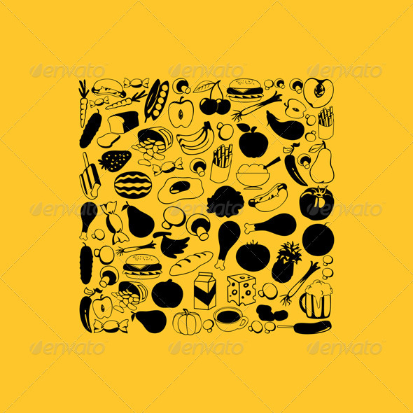 Graphic River Food6 Vectors -  Objects  Food 850140