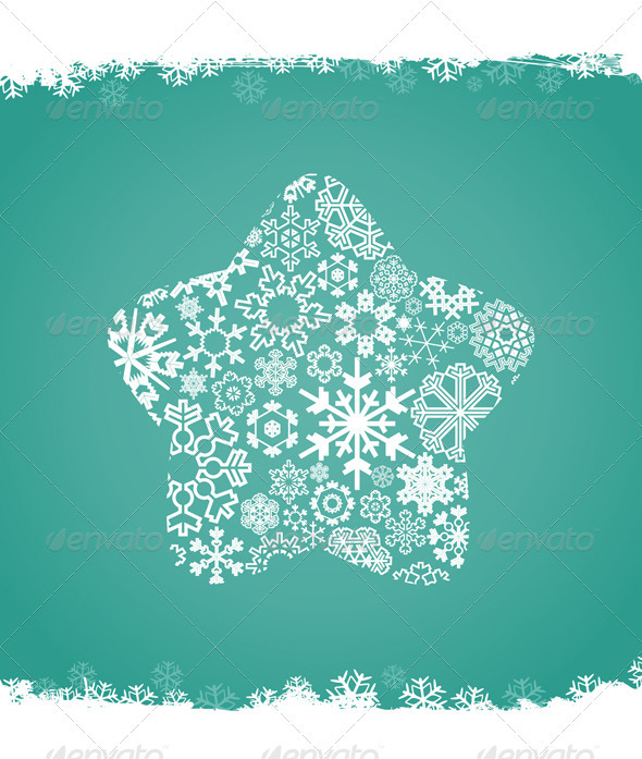 Graphic River Snow star Vectors -  Conceptual  Seasons/Holidays  New Year 851003