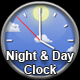 Night and Day Clock animation - ActiveDen Item for Sale