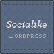 Socialike Responsive WordPress Blog & Social Pages - ThemeForest Item for Sale