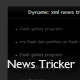 Dynamic xml news ticker(V) - ActiveDen Item for Sale